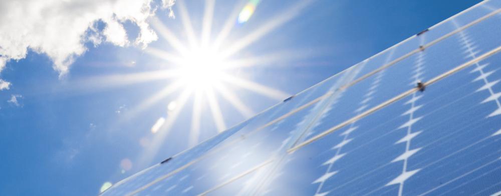 Wir bringen die Energie der Sonne ins Haus